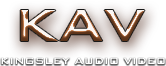 Kingsley Audio Video Logo